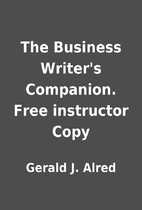 The Business Writer's Companion. Free…