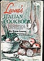 Leone's Italian Cookbook by Gene Leone
