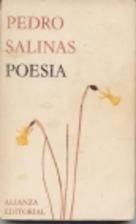 Poesía by Pedro Salinas
