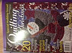 The Quilter Magazine Quilting For Christmas…