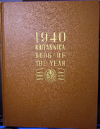 1940 Britannica Book of the Year by…