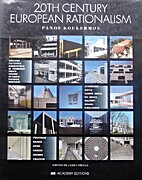 20th Century European Rationalism by Panos…