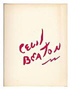 Cecil Beaton, Exhibition Catalogue, Barbican…