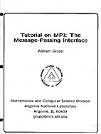 Tutorial on MPI: The Message-Passing…