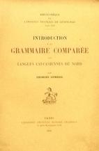 Introduction à la grammaire comparée des…