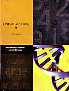Linear Algebra by Michael O'Nan