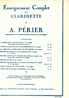 Enseignement complet de la clarinette by A.…