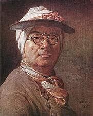 Author photo. Self-Portrait with Glasses, 1775.