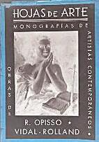 Hojas de Arte. Monografías de artistas…
