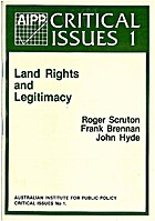 Land rights and legitimacy : three views by…
