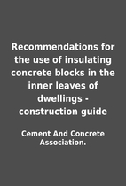 Recommendations for the use of insulating…