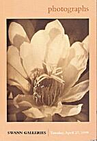 Photographs, Sale 1825: Swann Galleries,…