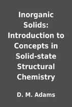 Inorganic Solids: Introduction to Concepts…