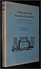 Tools for the trades and crafts: An…