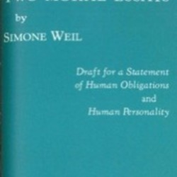 two moral essays simone weil