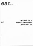 Tres paseos por las afueras by Carlos Martí…