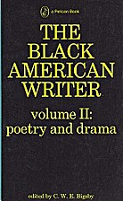 The Black American Writer: Volume 2: Poetry…