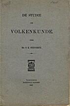 De studie der volkenkunde by S.R. Steinmetz