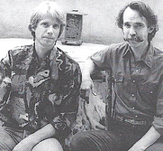 Author photo. Michel Monteaux (left) and Henry Glassie