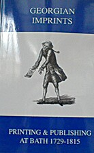 Georgian Imprints: Printing and Publishing…