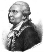 Author photo. Jacques-Antoine-Hippolyte de Guibert (by G. Engelmann)