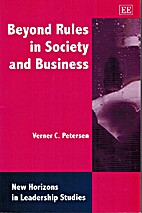 Beyond Rules in Society and Business (New…