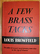 A few brass tacks by Louis Bromfield