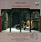 Massimilla Doni by Othmar Schoeck