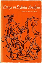 Essays in stylistic analysis by Howard S…