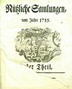 Nützliche Samlungen, vom Jahre 1755