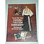 Swedish Tvistsom Embroidery: Technique and…