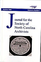 Journal for the Society of North Carolina…