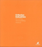 Criterion Industries by Criterion Industries