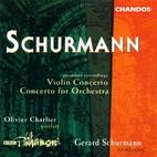 Concerto for orchestra ; Violin concerto…