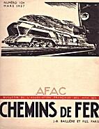 Chemins de fer n°104 by Daniel Caire