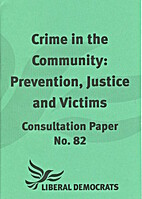 Crime in the Community: Prevention, Justice…