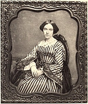 Author photo. Image from <b><i>The Morgesons: A Novel</i></b> (1901) by Elizabeth Stoddard