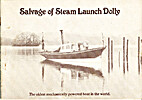 Salvage of Steam Launch Dolly by George…