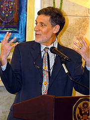 Author photo. Embassy of the U.S./Israel (Distinguished American Speaker Series)