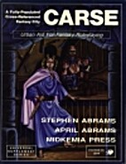 Carse: Urban Aid for Fantasy Roleplaying…
