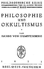 Philosophie und Okkultismus by Hanns…