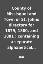 County of Missisquoi and Town of St. Johns…
