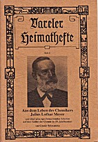 Aus dem Leben des Chemikers Julius Lothar…