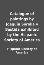 Catalogue of paintings by Joaquín…
