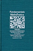 Fundamentals of Mathematics, Vol. 1:…