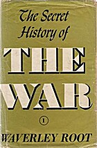 The Secret History of the War (complete) by…
