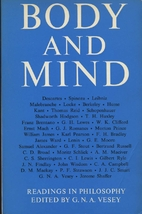 Body and mind; readings in philosophy by…