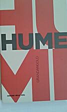 Hume by Gianni Paganini