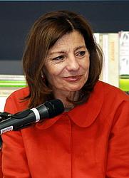 Author photo. Ursula Krechel, Frankfurt Book Fair 2012/Lesekreis