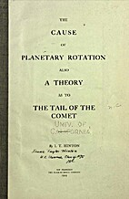 The Cause of Planetary Rotation, Also a…